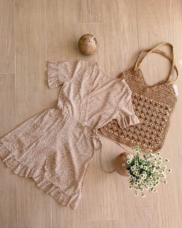 vestido nuevo en la tienda