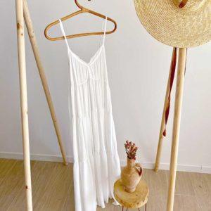 vestido verano blanco