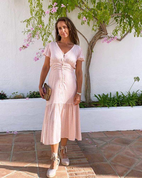 vestido de la tienda